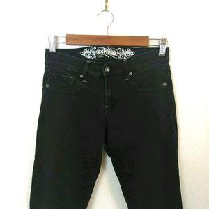 Express Jean Legging Black Denim Pants